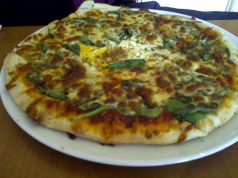 Mr W's pizza