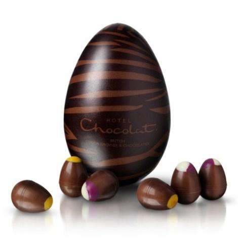Zebra Beastie Egg (Photo: Hotel Chocolat)