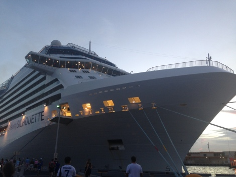 The beautiful ship